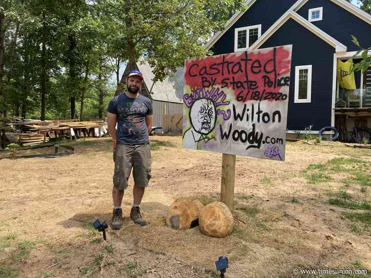Podcast: How a wooden phallus became the symbol of a Wilton man's fight with the town