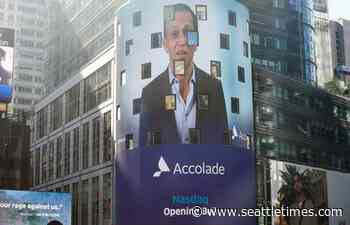 Seattle health care technology company Accolade raises $220 million in IPO, shares soar 35% - Seattle Times