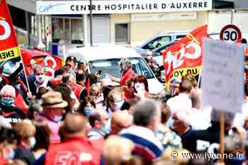 A Auxerre, Sens, Joigny... Retour sur une journée de mobilisation du personnel soignant dans le département - L'Yonne Républicaine