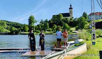 Waldhausen: Wakeboard-Camp mit Doppelstaatsmeister am Badesee - meinbezirk.at