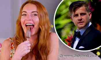 Lindsay Lohan and Ozzy Osbourne react to Married At First Sight Australia on Celebrity Gogglebox USA - Daily Mail
