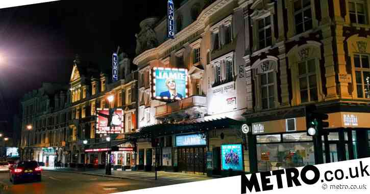 When will theaters in the UK reopen?