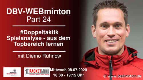 DBV-WEBminton: #Doppeltaktik