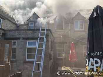Cause of fire at Crawley Inn, Witney unknown