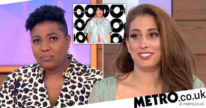 Loose Women's Stacey Solomon says she doesn't associate women with sex crimes when Ghislaine Maxwell is arrested