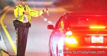 Burnaby cops arrest 3 in new impaired driving campaign - Burnaby Now