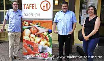 Tafelladen freut sich über ansehnlichen Zustupf - Schopfheim - Badische Zeitung