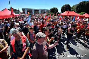 Rassemblement Luxfer à Gerzat (Puy-de-Dôme) : « Cette usine, on va la rouvrir ! » - La Montagne