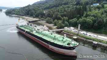Tanker full of Alberta oil makes its way east to New Brunswick — via the Panama Canal