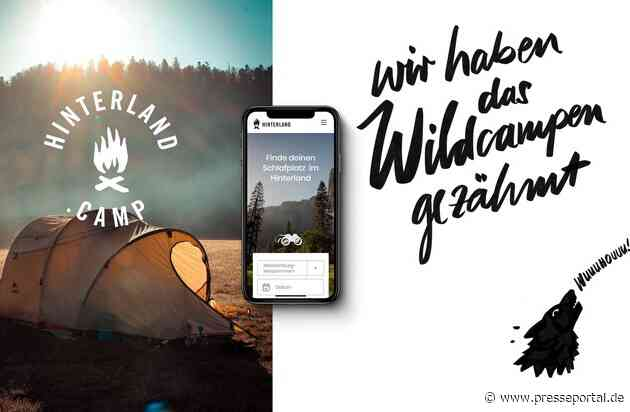 hinterland.camp: Neue Plattform für individuellen Camping-Urlaub auf Privatgrundstücken / Wie man das Wildcampen zähmt und den Sommer 2020 rettet / Sommerurlaub im Hinterland für Kurzentschlossene