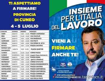 Lega Cuneo: il prossimo fine settimana in tutte le principali piazze della provincia - TargatoCn.it