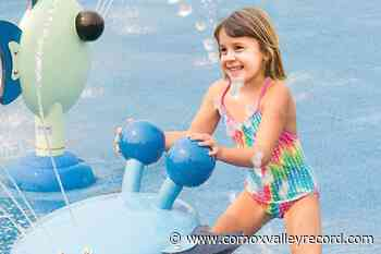 Spray parks in Comox and Courtenay reopening - Comox Valley Record
