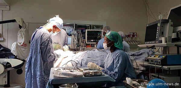 Neurochirurgie für Malawi: 400 000 Euro Unterstützung für Projekt des Ulmer Neurochirurgen Professor Dr. Thomas Kapapa