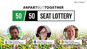 Get your 50/50 Seat Lottery ticket for Brighton!