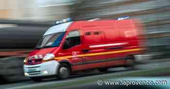 Roquevaire : accident entre deux véhicules, la D96 est coupée - La Provence