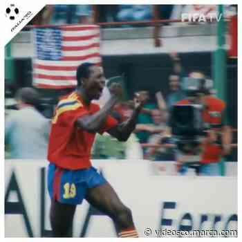El gol de Feddy RIncón a Alemania como nunca los habías visto antes - Marca Claro Colombia - Marca Claro Colombia