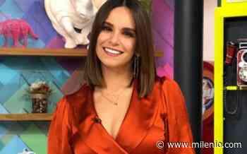 """""""Fue raro"""": Tania Rincón recuerda la primera vez que estuvo en 'Hoy' - Milenio"""