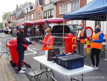 Dinsdagmarkt opnieuw naar vertrouwde stek maar mondmaskers verplicht