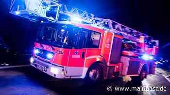 Feuer in Klingenberg (Lkr. Miltenberg): Flammen greifen auf Wohnhaus über - Main-Post