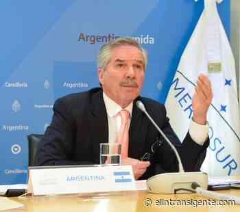 Felipe Solá habló sobre el comercio de Argentina con la Unión Europea - El Intransigente