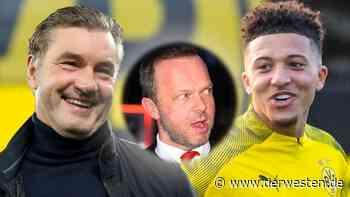 Borussia Dortmund: DIESE Witz-Summe bietet United für Sancho - Derwesten.de