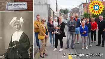 Bijna negentig jaar nadat ze haar naam gaf aan hun straat weten bewoners nog amper wie zuster Lambertine is