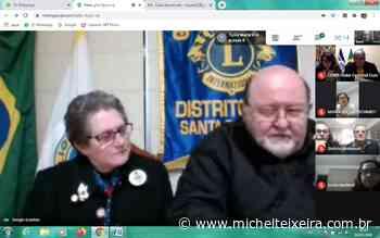 Janis Scarton é empossada como presidente do Lions Clube de Capinzal e Ouro - Michel Teixeira