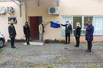 Administração de Capinzal realiza entrega da ampliação da Creche Primeiros Passos - Michel Teixeira