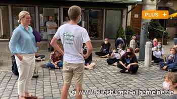 Klimaprotest in Augsburg: Eva Weber spielt ihre Stärke aus