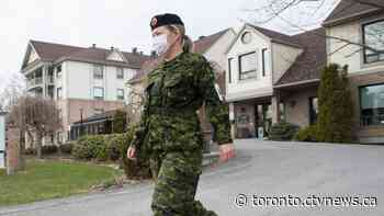 Canadian Armed Forces leaves final Ontario long-term care home
