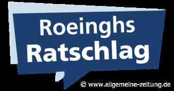 Roeinghs Ratschlag: Schulreform notwendig