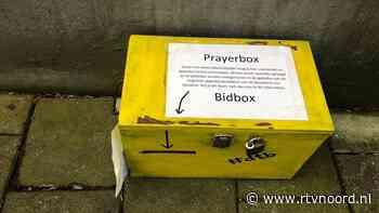 Opvallend geel kistje helpt Dorpskerk door coronatijd - RTV Noord