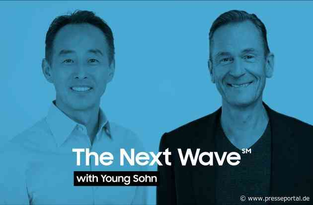 """Mathias Döpfner in neuer Interview-Reihe """"The Next Wave with Young Sohn"""", presented by Samsung"""
