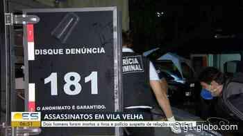 Em duas horas, dois homens são assassinados em Vila Velha, no ES - G1