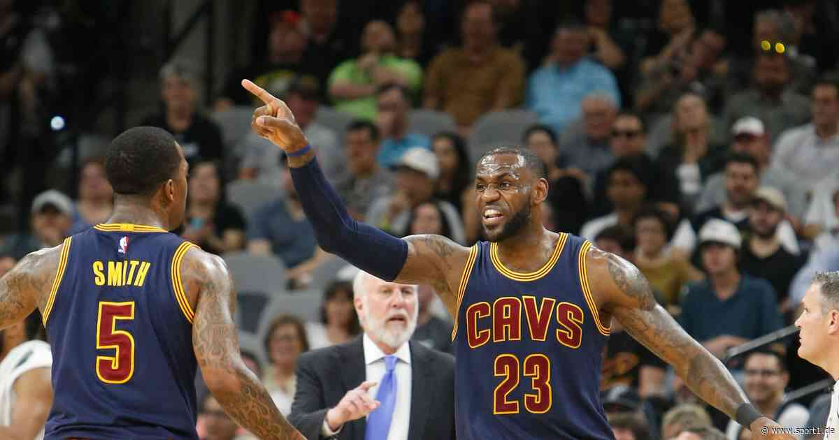 NBA: J.R. Smith treibt LeBron James in den Wahnsinn - jetzt Titel mit Lakers - SPORT1