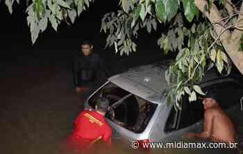 Motorista abadona Gol após cair dentro do rio Taquari em MS - Jornal Midiamax