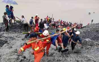 Una mina de piedras de jade fue arrasada por las lluvias y murieron 162 mineros - Diario San Rafael