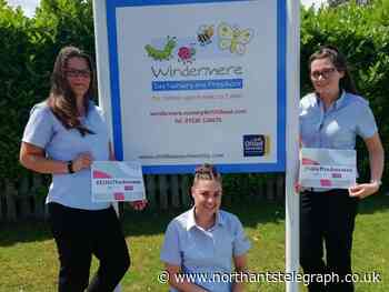 Nurseries in Kettering and Northampton celebrate Employee Ownership Day - Northamptonshire Telegraph