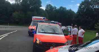 Usingen: Brand in Waggon der HLB - Usinger Anzeiger