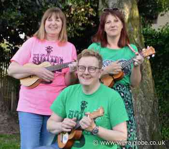 Hoylake Summer Strummers on-line for charity this weekend