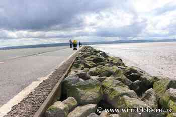 West Kirby Marine Lake walkway reopening - but keep distance