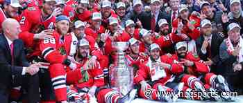 Why the Stanley Cup was late to Blackhawks' 2015 Game 6 win over Lightning