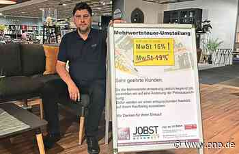 """Wie belebend wirken die Rabatte mit der """"Gießkanne""""? - Passauer Neue Presse"""