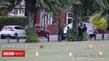 Park stabbing victim named by police - BBC News