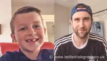 Belfast boy Joshua's lockdown poem leads to television debut on Channel 5's Milkshake - Belfast Telegraph