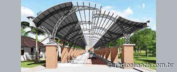Prefeitura de Ipira inicia as obras de construção da rua coberta - Rádio Aliança 750khz