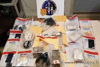 Dix prévenus à la barre du tribunal judiciaire de Tulle pour répondre d'un important trafic de stupéfiants - La Montagne