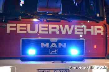 Bernburg: Betrunkener randaliert am Feuerwehrauto - Volksstimme