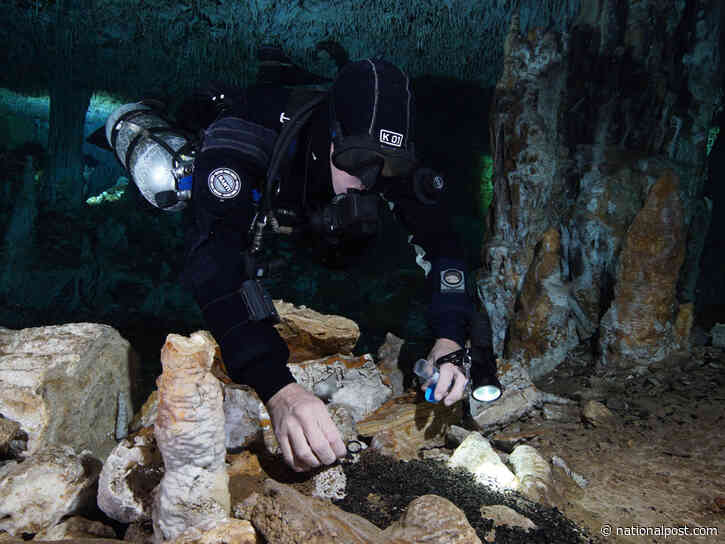 Canadian scuba diver in Mexico accidentally discovers vast, prehistoric industrial complex