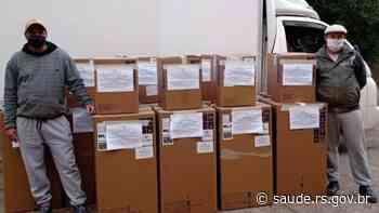 Hospital de Charqueadas recebe 10 respiradores para leitos da UTI atender também a população prisional - Secretaria da Saúde